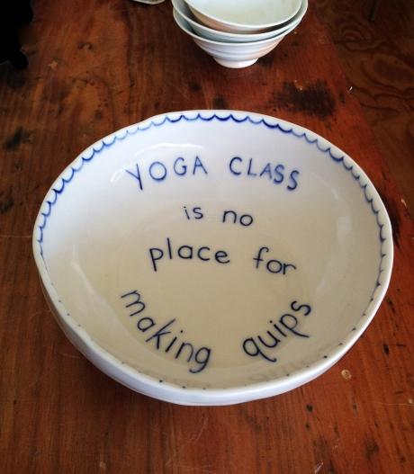 Yoga bowl adj