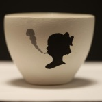 smoking girl cup
